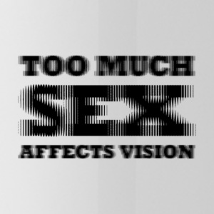 Too much sex Affect vision - Water Bottle