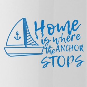Segeln: Home is where the anchor stops - Trinkflasche