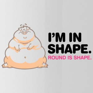Je suis en forme, Round Is Shape! - Gourde