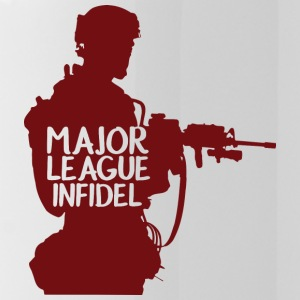 Military / Soldiers: Major League Infidel - Water Bottle