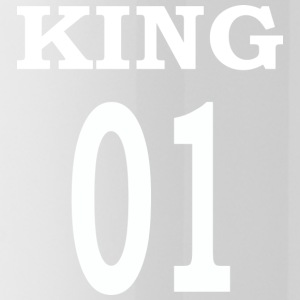 King01white - Drinkfles