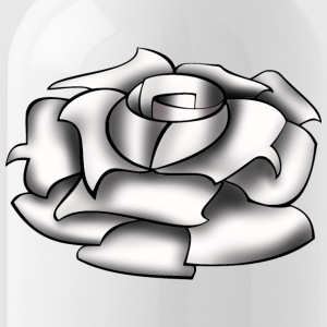 Rose white - Water Bottle