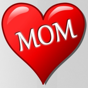 Heart Red Mom - Drinkfles
