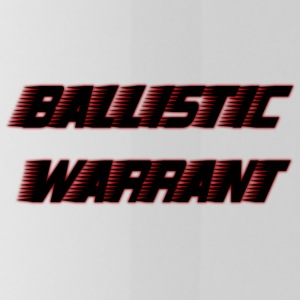 BallisticWarrrant - Water Bottle