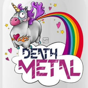 Death Metal Unicorn - Water Bottle