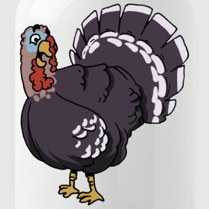 Turkey turkey turkey poultry chicken bird birds - Water Bottle