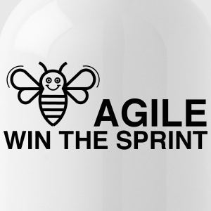 BE AGILE WIN THE SPRINT - Trinkflasche