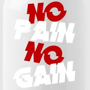 no pain - Water Bottle