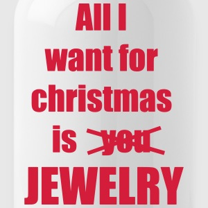 Christmas song saying Jewelry - Water Bottle