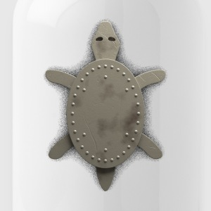 iron turtle - Water Bottle