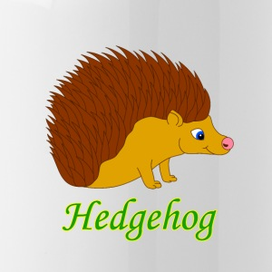 Vektor illustration Hedgehog - Vattenflaska