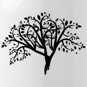 Tree illustration - Water Bottle