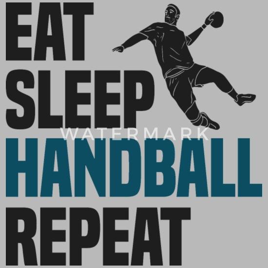 Cool Lustig Nerdy Handball Team Sprüche Geschenk Trinkflasche Lightsilver