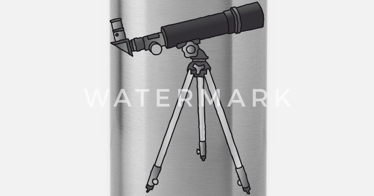 Teleskop astronomie c trinkflasche spreadshirt