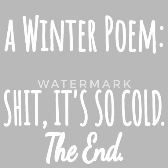 Winter Gedicht Lustig