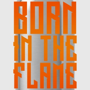 maglietta_born_in_the_flame - Borraccia