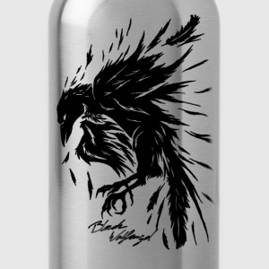 raven_tribal - Water Bottle