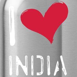 I love India - Water Bottle