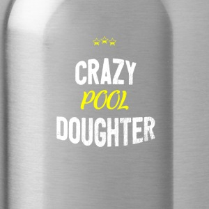 Distressed - CRAZYPOOL DAUGHTER - Water Bottle