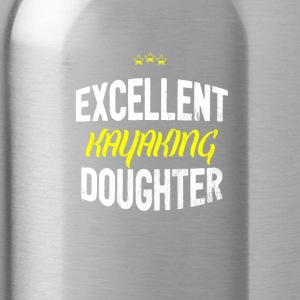 Distressed - EXCELLENT KAYAKING DAUGHTER - Water Bottle