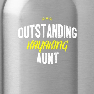 Distressed - OUTSTANDING KAYAKING AUNT - Water Bottle