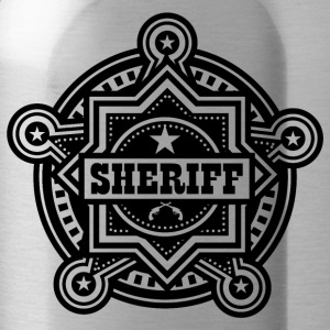 Badge de shérif ou Marshall - Gourde