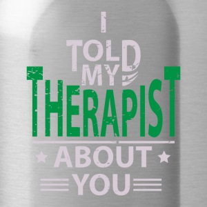 Therapy Psychologist Therapist Psychologist - Water Bottle