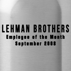 Lehman Brothers - Water Bottle