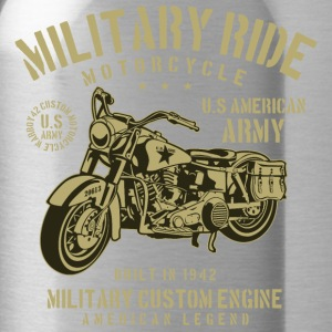 Military Ride Motorcycle - Water Bottle
