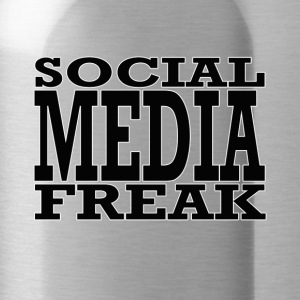 social media freak - Drinkfles