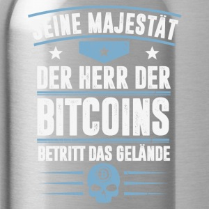 Bitcoins - Water Bottle