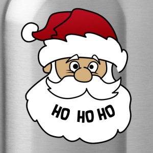 Christmas gift Santa Claus Santa Claus Xmas - Water Bottle