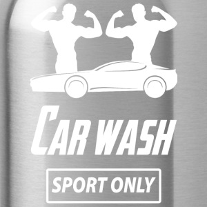 carwashsport wite - Water Bottle