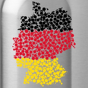 Germany map - Water Bottle