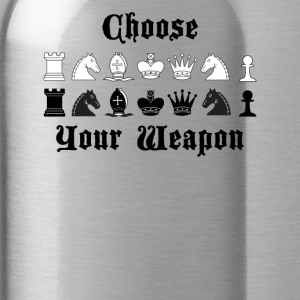 Chess Choose your weapon gift - Water Bottle