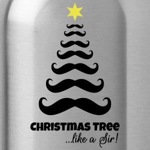 Christmas tree like a sir - Water Bottle
