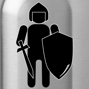Stickman Knight - Water Bottle
