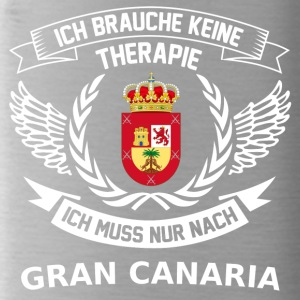 Gran Canaria T Shirt Therapie Pullover - Trinkflasche
