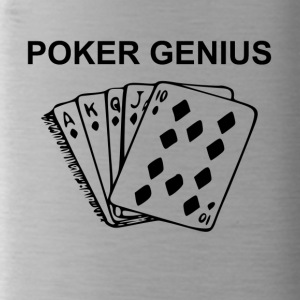 Genius Poker - Borraccia