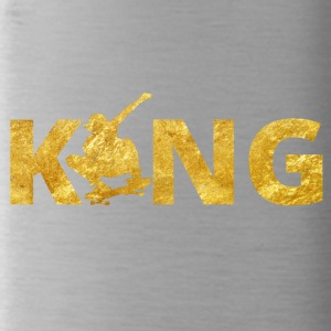 Skateboard King Gold Skater - Water Bottle