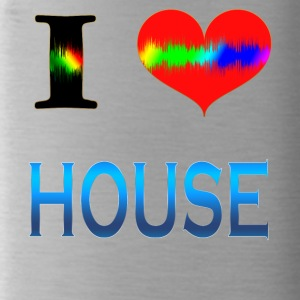 I Love HOUSE - Water Bottle
