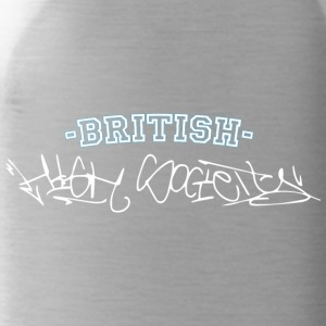 british high society Graffiti Style - Trinkflasche