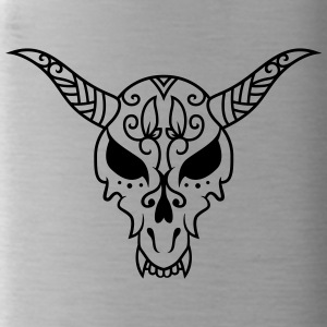 Dead head with horns - Water Bottle