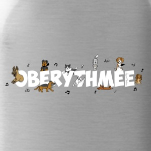 musical canine freestyle - Water Bottle