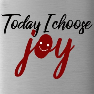 Today I Choose Joy - Today I choose joy - Water Bottle