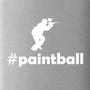 hashtag paintball - Drinkfles