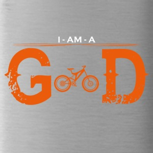 I AM GOD legend mountainbike cycle - Trinkflasche