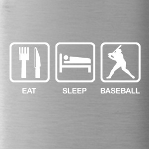 Eat Sleep Baseball - Trinkflasche