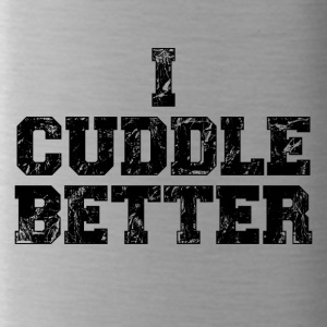 i cuddle better - Trinkflasche