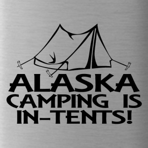 alaska camping in tents - Trinkflasche